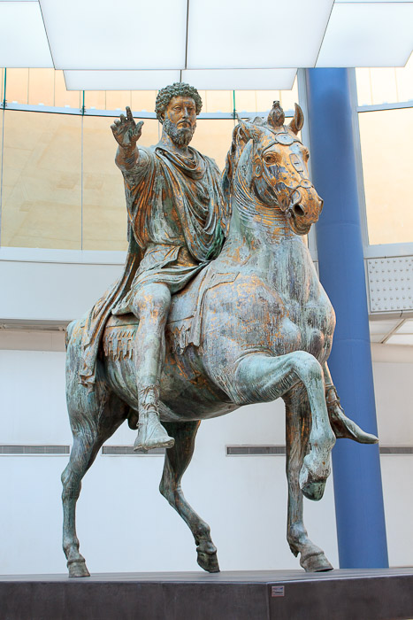 the decline of the republic of rome after the death of marcus aurelius Marcus aurelius 161 - 180 ad born 121 - died 180 ad, age 59 marcus annius verus was born in rome in 121 ad, the son of annius verus and domitia lucilla hadrian recognized the fine qualities of the youth and he was originally betrothed to the daughter of aelius caesar after the death of aelius, he was adopt ed by his uncle, the emperor antoninus pius, and took the name of marcus aelius .